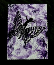 riding the butterfly 14x11 $40