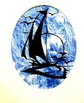 sail away (matted 14x11) $40