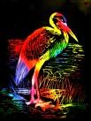scratch color egret $10