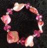 Bracelet Pink Shell & Beads