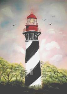 Lighthouse (Oil) $125