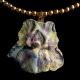 Necklace Iris Clay Resin