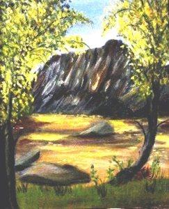 Jamison Mill River (217 O) (20x24) F $250
