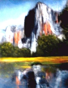 El Capitan Yosemite (Pastel) $275