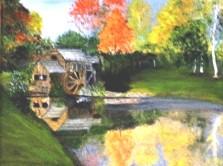 Mabry Mill (Oil) $275
