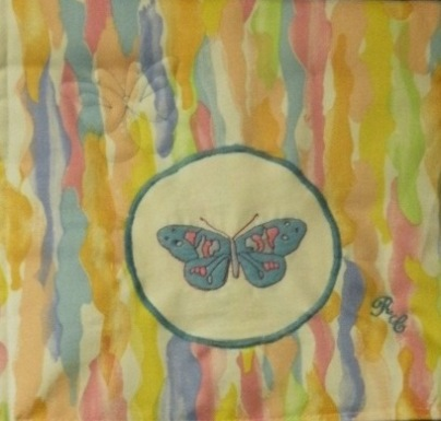 Wall Hanging Blue Butterfly