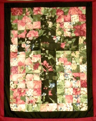 Wall Hanging Cross Quilted