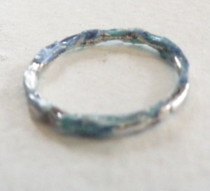 Ring Twisted #2 Lt. Teal