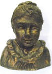 Sculpture Bronze Lady