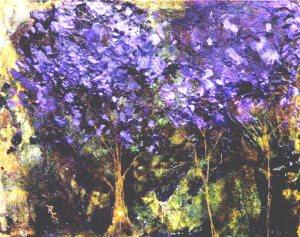 California Purple Trees $145
