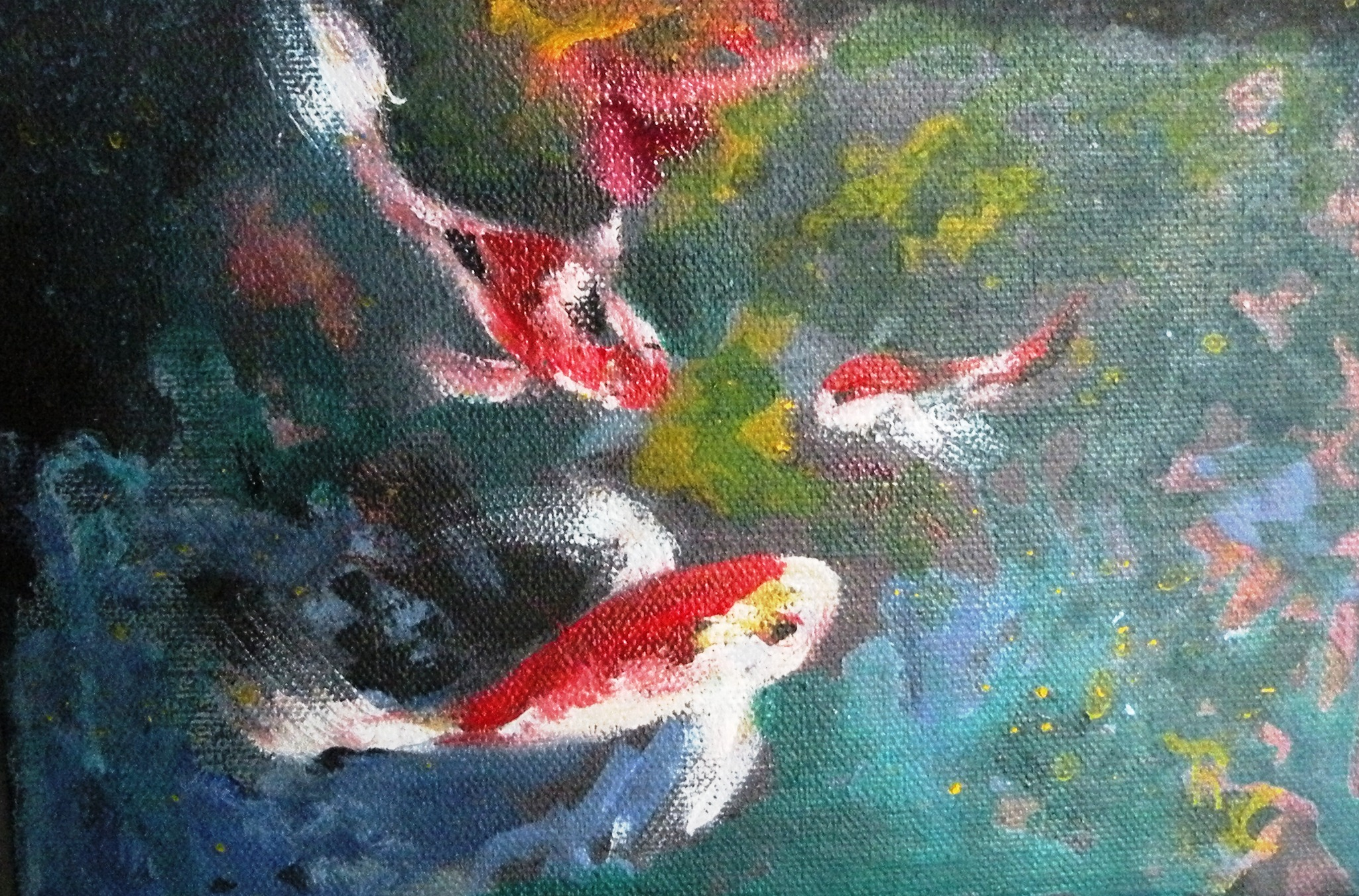 Underwater Fish 3 (Oil) n $45
