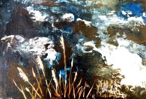 Sea Grass (Acrylic 8.5x11) $85