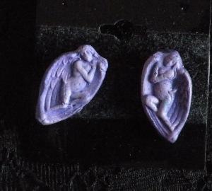 Earrings Purple Ladies