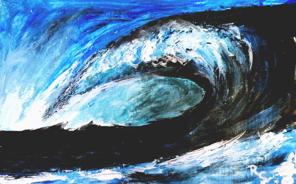 The Big Kahona (Acrylic   M 8.5x11) $85