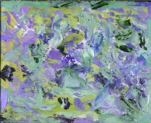 Scrambled Thoughts (Oil) $100)