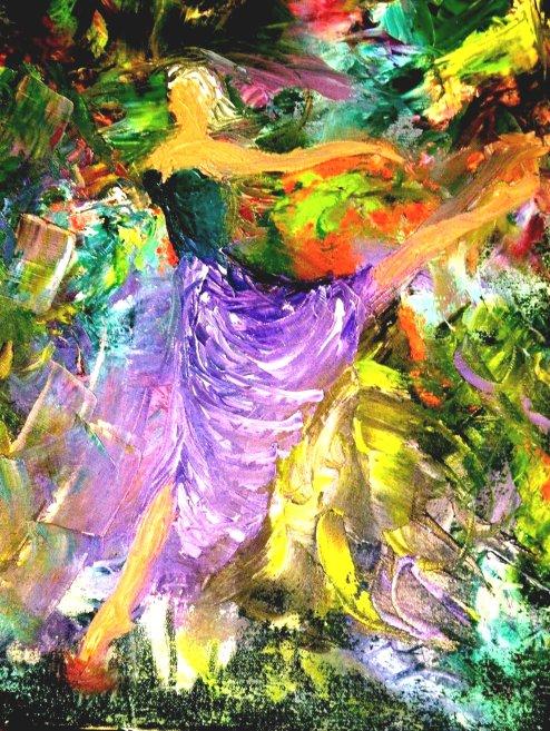 Ballerina in Flight  (Oil)  $$200.JPG