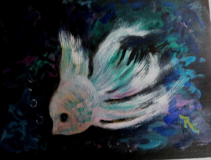Underwater Fish 2 (Oil) $35